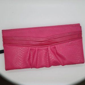Miche Cherry Flap Closure Croc Embossed Classic Shell Pink/Black SHELL ONLY